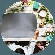Pass-Zen Services - Atelier de composition florale en entreprise